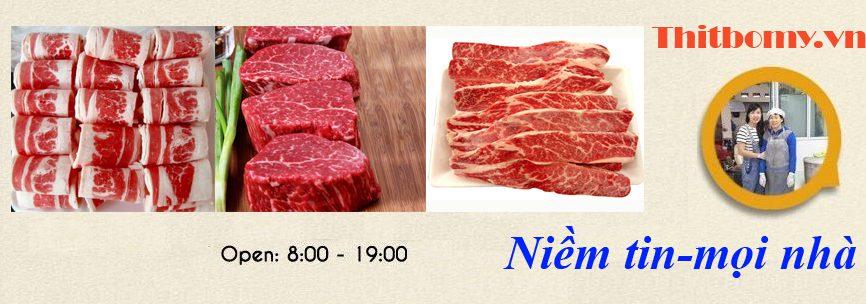 Thịt Bò Mỹ cao cấp tại TPHCM